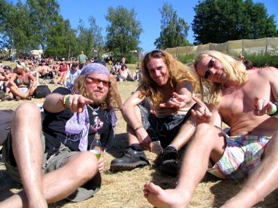 Sami, Claudio ja Vesa